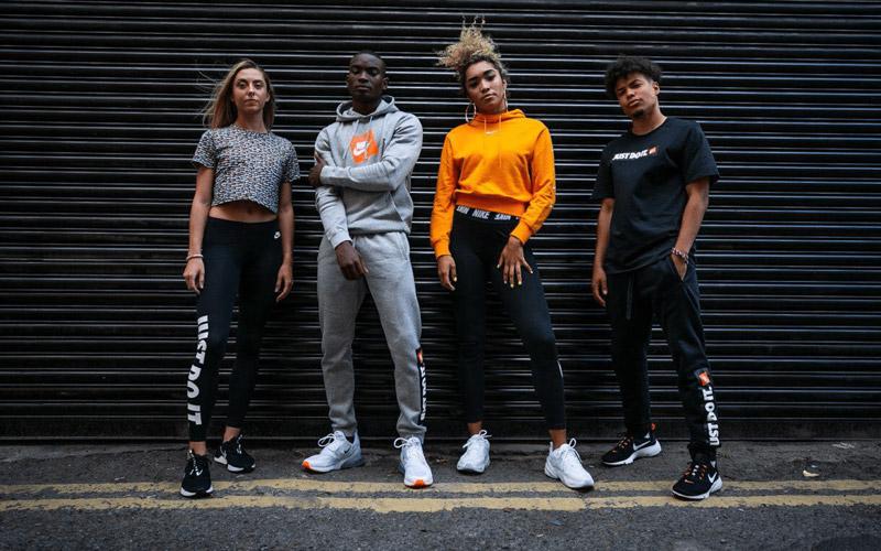 thời trang streetwear với nike